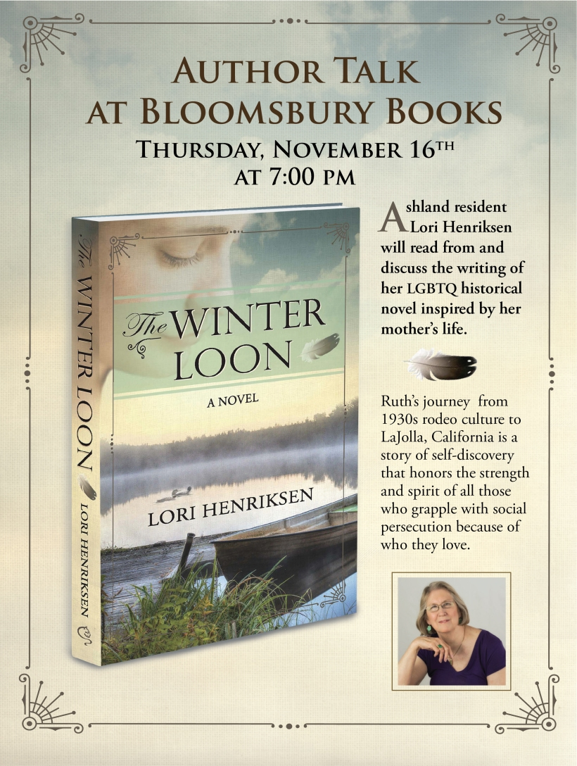 Winter Loon Book Talk